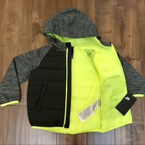 39e0fabbda Nike Jackets & Coats - Brand New NIKE Kids Therma Fleece Jacket Size 2T